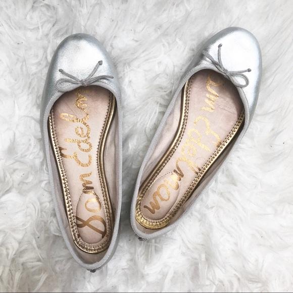 6c7fe31b8 Sam Edelman silver metallic ballet flats. M 5bcd0d72d6dc5258a365f105